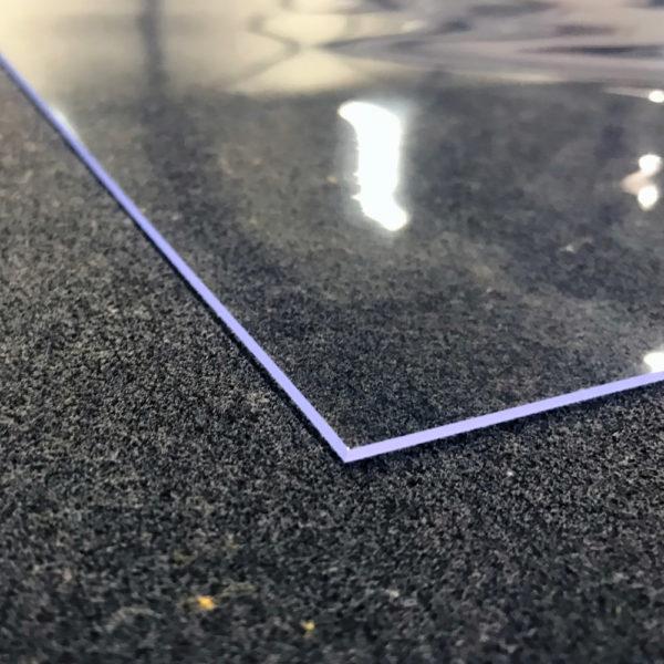 Doorzichtig Tafelzeil Transparant Rechte Hoeken 2mm