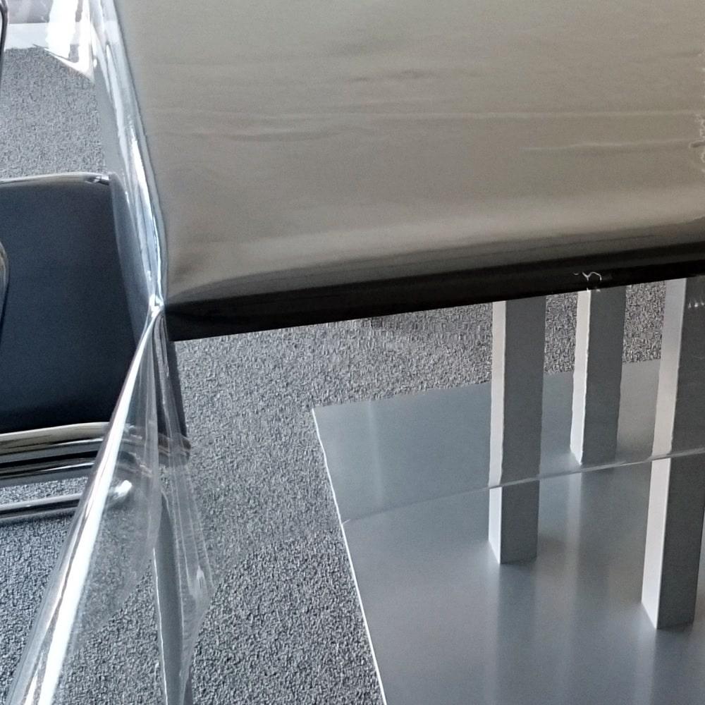 Doorzichtig transparant PVC tafelzeil 05 mm dik