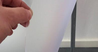 Mat doorzichtig transparant PVC tafelzeil tafelbeschermer