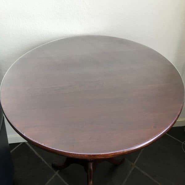 Rond doorzichtig transparant PVC tafelzeil