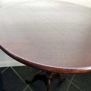 Rond doorzichtig transparant PVC tafelzeil tafelbeschermer
